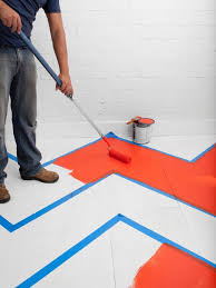 paint hardwood floors with a pattern hgtv