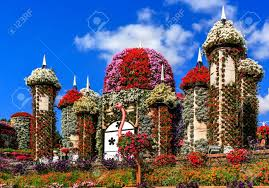 flower house dubai miracle garden stock photos royalty free business images