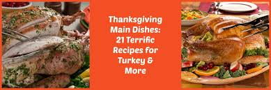 Main Dishes - thanksgiving main dishes 21 terrific recipes for turkey u0026 more