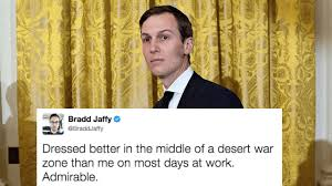 Jared Meme - jared kushner looking hilariously preppy in iraq gets the meme