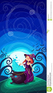 halloween background free clipart cute young witch for halloween cards vector clip art illustrati