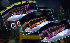 halloween game background halloween night bus driver android apps on google play