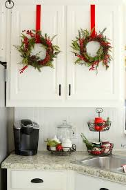 Xmas Decorating Ideas Home Best 25 Christmas Kitchen Ideas On Pinterest Christmas Decor