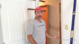 how to remove u0026 install an interior door youtube