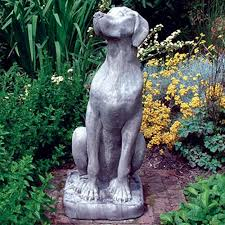 garden animal statues bunny rabbit animal garden