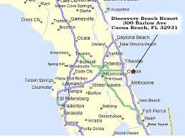 melbourne fl map cocoa florida map my