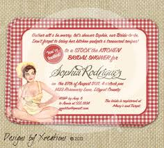 kitchen bridal shower free printable invitation design