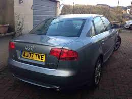 audi a4 s line 07 audi 2007 a4 s line tdi 170 special edition fully loaded car for sale