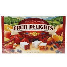 fruit delights fruit delights fruit and nut candies walgreens