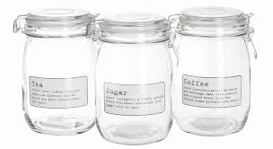 glass kitchen canister set modern glass kitchen canisters scandinavian 3 kitchen