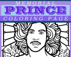 memorial coloring pages prince rogers nelson memorial coloring page pdf instant