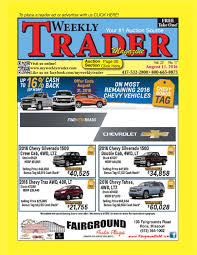 weekly trader august 11 2016 by weekly trader issuu