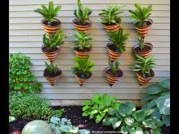 cone container living wall garden how to youtube