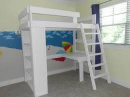 Make Wooden Loft Bed by Best 25 Bunk Bed Plans Ideas On Pinterest Boy Bunk Beds Bunk