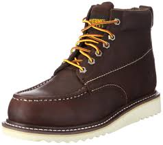 s boots amazon wolverine apprentice hi lea twig boots mens amazon co uk