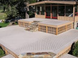 low maintenance composite decking