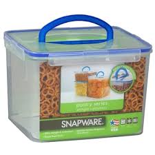 Cup Storage Containers - snapware 1098437 40 cup clear airtight food storage container with