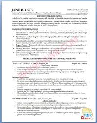 resume sample college instructor professional resumes example online