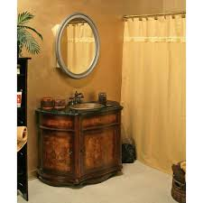 furniture impressive bathroom mirror oval and corner bathroom