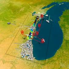 White Lake Michigan Map by Sage Iii Achieves First Light From Space Station Perch Nasa