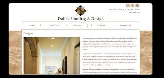 website re design for dallas flooring company doodle creative