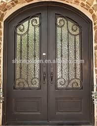 Main Door Flower Designs by Double Front Security Door Design Door With Copper Color Buy