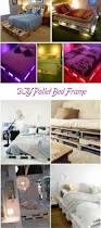 Pallet Bed Frame Plans 33 Cool Diy Recycled Pallet Bed Frame To Duplicate Diy Bedroom