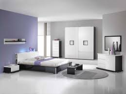 bedroom with black and white furniture furniture home decor