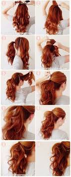 easy hairstyles for waitress s classy xl pitkien hiusten helppoja kauksia hairstyles