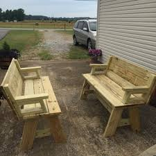 Picnic Table Bench Combo Plan Picnic Table And Bench Combo Plan Rockler Woodworking And Hardware
