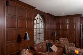 Wainscoting Office Maryland Custom Trim Projects Maryland Cabinets A Cut Above Inc