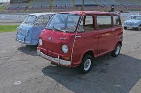 vw minivan 1970 vintage subaru 360 drive inauspicious roots motor trend