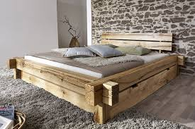 Schlafzimmer Bett 200x200 Sam Holzbett Jonas 180 X 200 Cm Mit Schubkästen Bett Aus Geölter