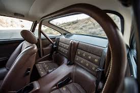 Porsche 911 Back Seat - a lovely pair of porsche 911s by singer showed up at pebble
