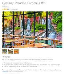 Circus Circus Buffet Coupons by Flamingo Paradise Garden Buffet Coupon U0026 Deal 2017