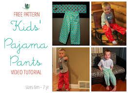 free pattern pajama pants how to sew pajama pants free pattern youtube