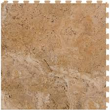 shop perfection floor tile travertine 6 20 in x 20 in