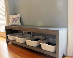 Build A Storage Bench Shoe Storage Bench Plans Fpudining