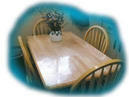 clear table top protector acrylic lucite protective tabletops