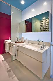 apartments towel bar on double floating vanity sink in amazing