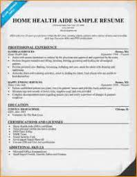Sample Resume Of Health Care Aide by Sample Cover Letter For Health Care Aide On Service With Sample