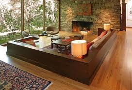 the livingroom candidate modern living room with hardwood floors sunken living room