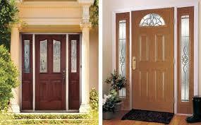 Stain For Fiberglass Exterior Doors Problems With Fiberglass Entry Doors Sound View Window Door