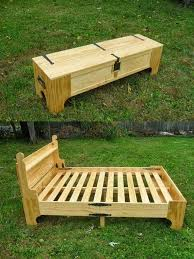 Folding Bed Frame Pallet Bed Frame 1 And Folding Founterior