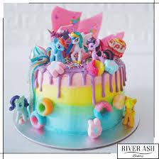 Cake Decorating Singapore My Little Pony Candyland Cake River Ash Bakery Cakes And