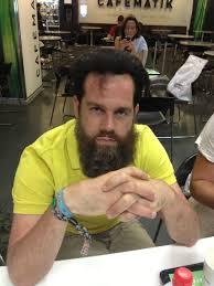 Diedrich Bader Guy With Half Shaved Beard And Half Shaved Head Photoshopbattles