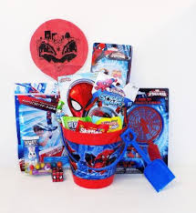 spider easter basket buy candy and easter basket with large chocolate egg