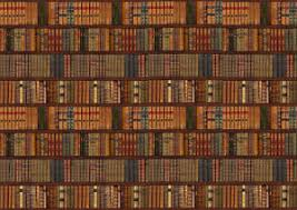 library bookcase shelf shelves old books photo wallpaper wall