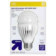 light bulb led general purpose soft white 100 watt up u0026 up