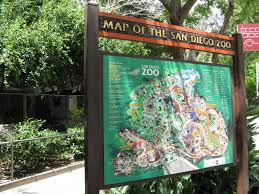 National Zoo Map Panoramio Photo Of San Diego Zoo Map